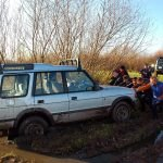 Off road, team building